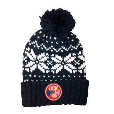Taking Back Sunday Snowflake Bobble Hat