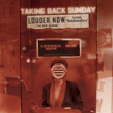 Taking Back Sunday Louder Now Vinyl LP LP