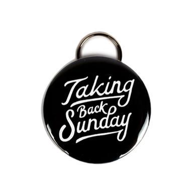 Taking Back Sunday Hand Drawn Bottle Opener Keyring