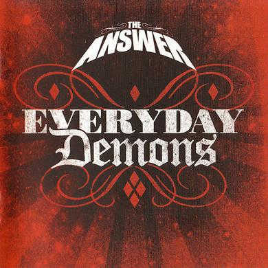 The Answer Every Day Demons: Red CD (With DVD) CD/DVD