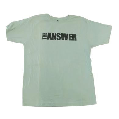 The Answer Green Grey Logo T-Shirt