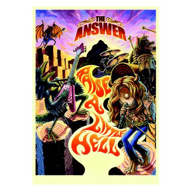 The Answer Raise A Little Hell Poster