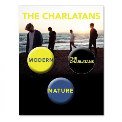 The Charlatans Badge Set (Set Of Three)