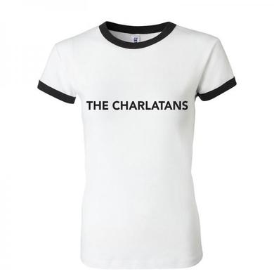 The Charlatans Womens Fitted Ringer Logo T-Shirt