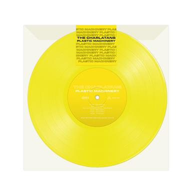 "The Charlatans Plastic Machinery (7"" yellow vinyl single)  7 Inch"