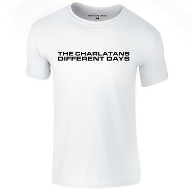 The Charlatans Different Days White Mens T-Shirt