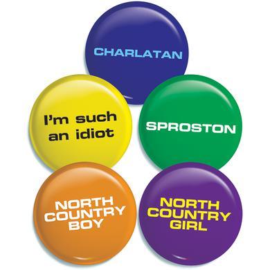 The Charlatans 5 Badge Set