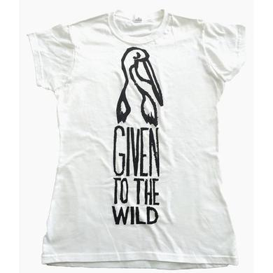The Maccabees Women's White and Black Pelican T-shirt