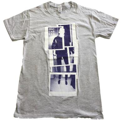 The Maccabees Men's Grey and Navy Polaroid T-shirt