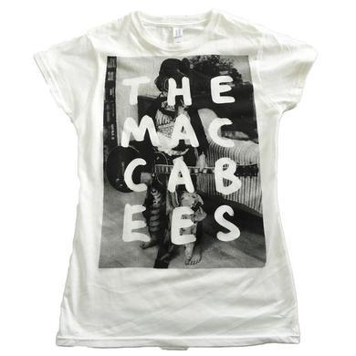 The Maccabees Men's White and black Hugo T-shirt