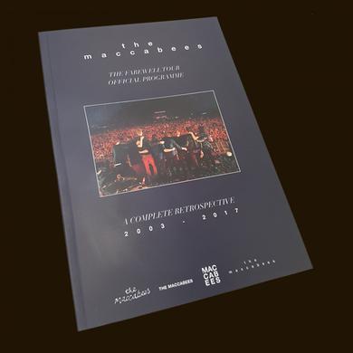 The Maccabees 2017 Tour Programme