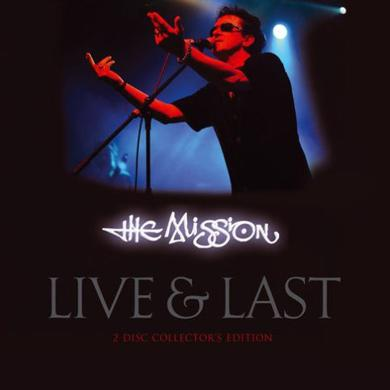 The Mission Live & Last Collectors Edition Double CD Boxset CD