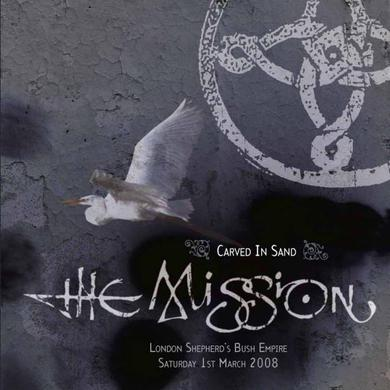 The Mission Carved In Sand Live 2LP (Limited Edition Grey Vinyl) Double LP