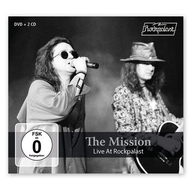 The Mission Live At Rockpalast 2CD + DVD CD/DVD