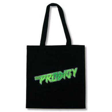 The Prodigy Green Logo Tote Bag