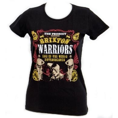 The Prodigy Brixton Warriors Skinny Ladies T-Shirt