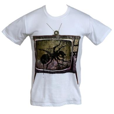 The Prodigy TV Drippy Black Ant on White T-Shirt