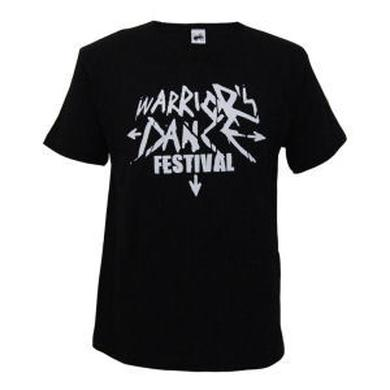 The Prodigy Warrior's Dance Festival on Black T-Shirt