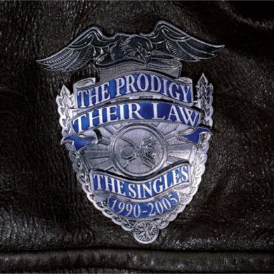 The Prodigy Their Law: The Singles 1990 - 2005 (Double Silver LP) (W/Sticker Set) Double LP (Vinyl)