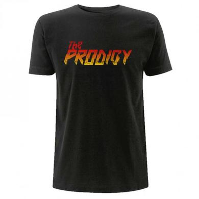 The Prodigy Gradient Logo Black Tee