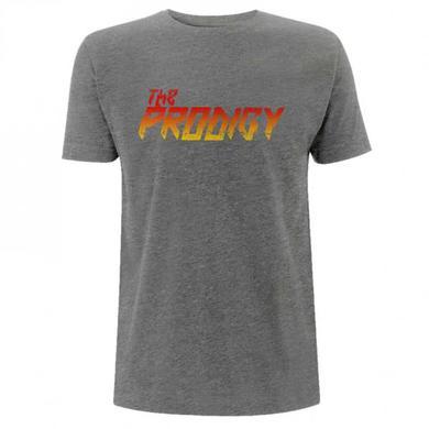 The Prodigy Gradient Logo Grey Tee