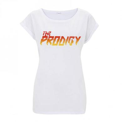 The Prodigy Gradient Logo, Ladies White