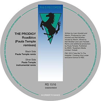 "The Prodigy Roadblox (Paula Temple Remixes) Ltd Edition 12"" 12 Inch"