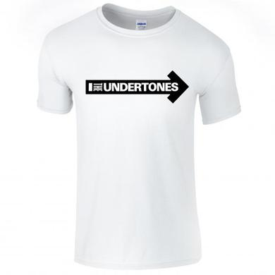 The Undertones White Logo T-Shirt