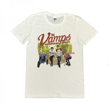 The Vamps Rolling Photo 2014-2015 Guys Tour T-Shirt