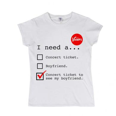 The Vamps I Need A... Girls T-Shirt