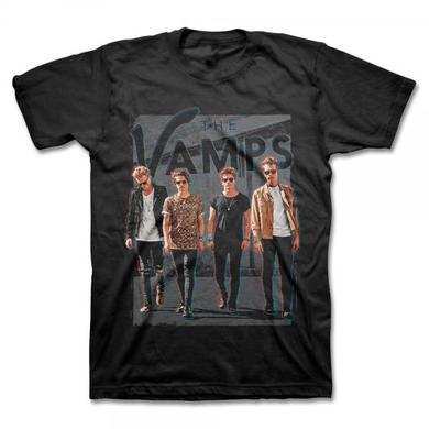 The Vamps 2015 World Tour Black T-Shirt