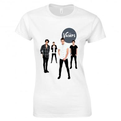 The Vamps White Room T-Shirt Ladies