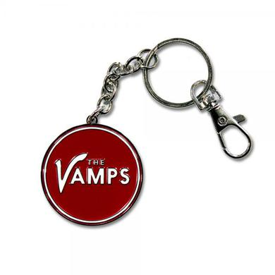 The Vamps Red Logo Keychain