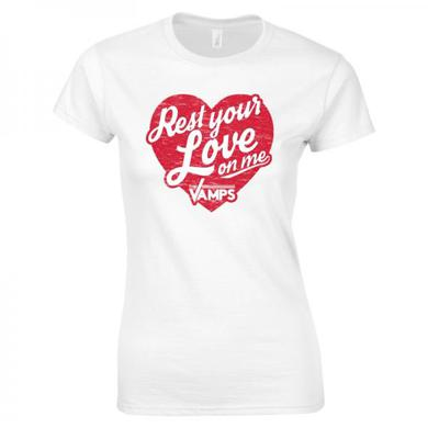 The Vamps Rest Your Love On Me Girls (Exclusive T-Shirt)