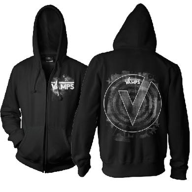 The Vamps Stamped Zip Hoody