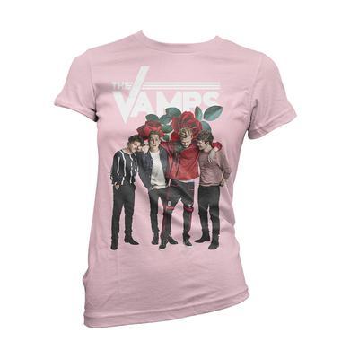 The Vamps Rose Petals Girls T-Shirt