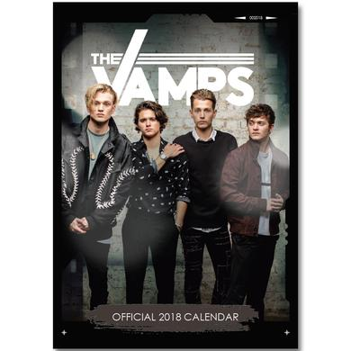 The Vamps Official 2018 Calendar - A3 Poster Format