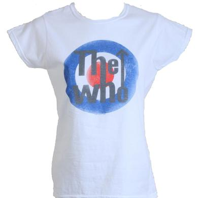The Who Bullseye Girls White T-Shirt