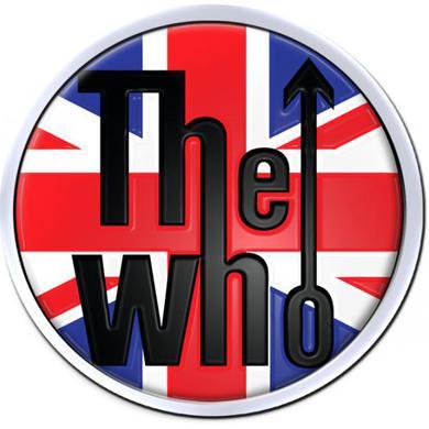 The Who Union Jack Enamel Pin Badge