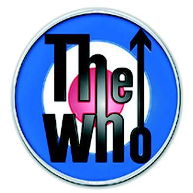 The Who Pin Badge Target Logo