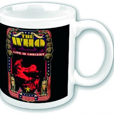 The Who Boxed Mug: Live In Concert