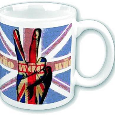 The Who Boxed Mug: Peace Fingers