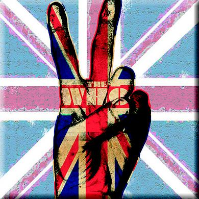 The Who Magnet: Peace Fingers