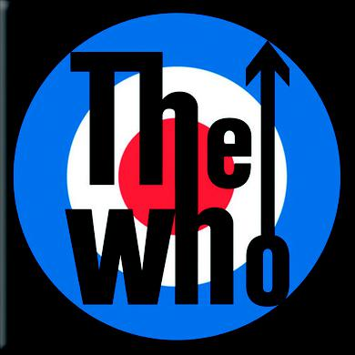 The Who Magnet: Target Logo