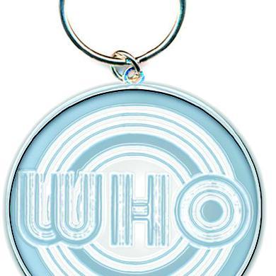 The Who Key Ring Circle Logo