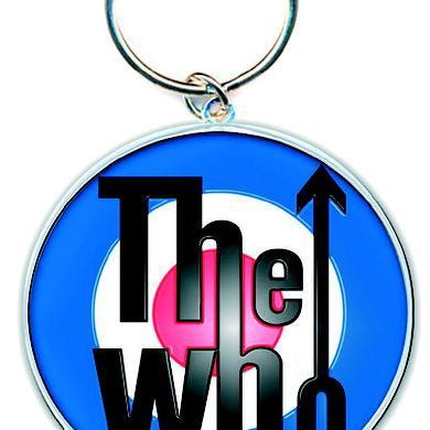 The Who Key Ring Target Logo