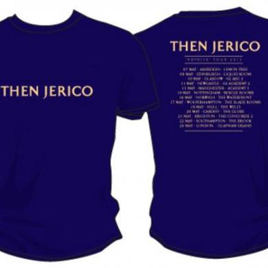Then Jerico 'REPRISE' Tour Dates 2013 T-Shirt Navy (Very Limited Quantity)
