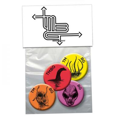 They Might Be Giants 4 x Badge Set