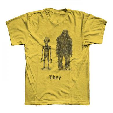 They Might Be Giants Ladies Gold Cryptid T-Shirt
