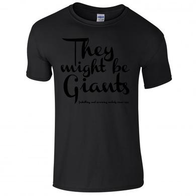 They Might Be Giants TMBG Black T-Shirt